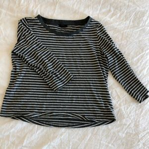 COS stripes long sleeve top